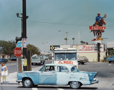 Indiana Street at Brooklyn Avenue, East Los Angels, June 26, 1987
