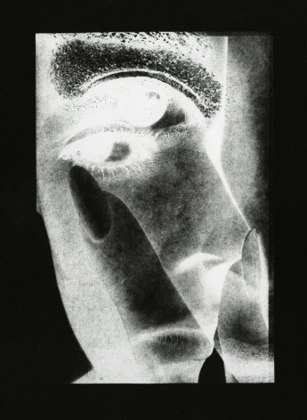 Nail 1968 vintage gelatin silver print