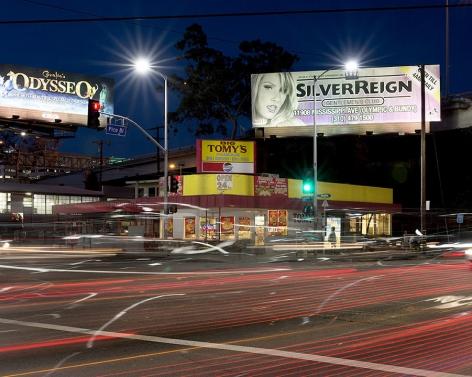 Big Tomy's, Pico Boulevard, Los Angeles, chromogenic print