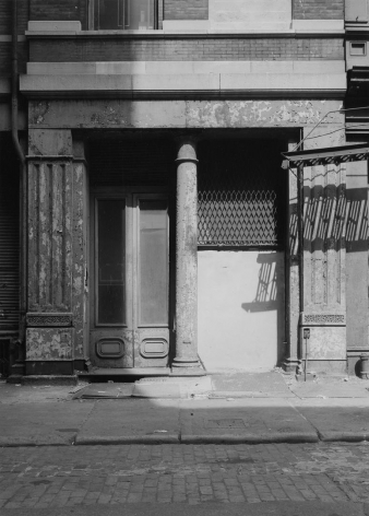 Column, Mercer Street, 1975