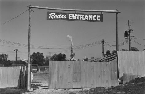 Rodeo Entrance, Douglas County Fairground, Lawrence, Kansas, 1976