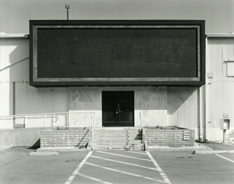 Industrial Building, San Diego, CA, 2018, gelatin silver contact print
