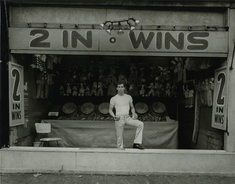 Stephen Salmieri, Coney Island, NY, 1969, printed 2000, gelatin silver print, 8 x 10 inches