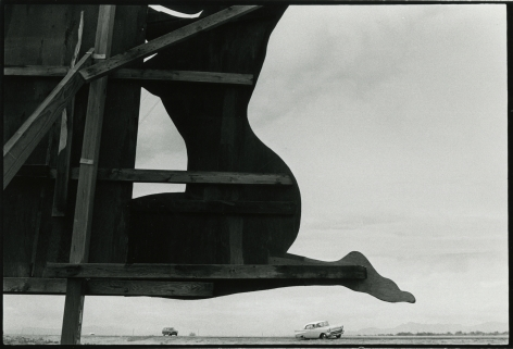 untitled, from American Roadside Monuments, 1974-77