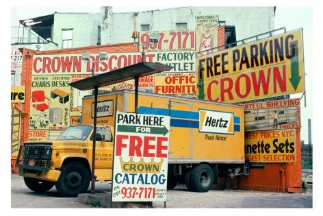 Crown Parking, 1975