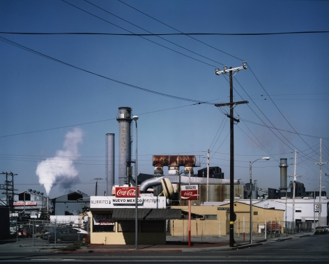 Pacific Coast Highway at Alameda Street, Wilmington, 1979