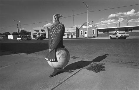 Case Eagle, Downtown Goodland, Kansas, 1976