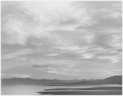 Sunset, Tasman Sea, 2003, gelatin silver print