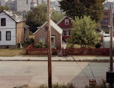 Cleveland, c. 1980, vintage Ektacolor print