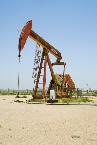 Oil Pump Jacks: Artesia, New Mexico, from the series, Beneath the Dirt of Great Men