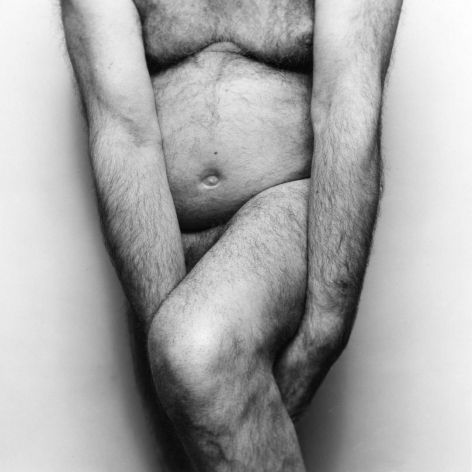 Two Arms Holding Leg, 1986