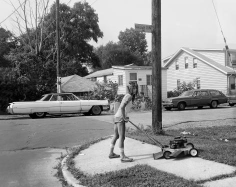 Woman Cutting Grass, 1983-84