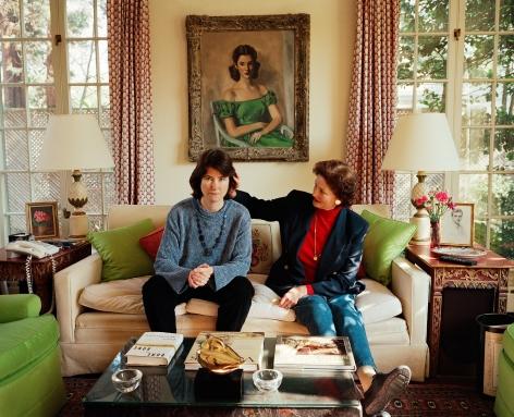 Sage Sohier, Self-portrait with Mum, Washington D.C., 2000