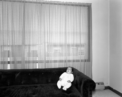 Mary Frey, Untitled (Baby on Couch), 1979-1983