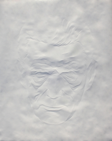 Simon Schubert, Portrait Samuel Beckett (2), 2015