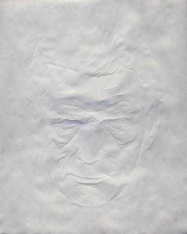 Simon Schubert, Portrait Samuel Beckett (2), 2015