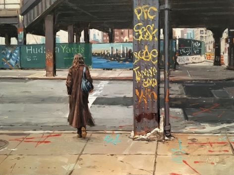 Vincent Giarrano, Crossing at the Hudson Yards