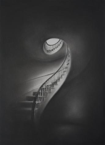 Simon Schubert, Untitled (Stairway), 2017