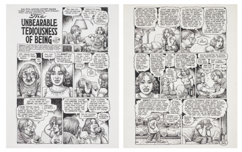 R. Crumb, The Unbearable Tediousness of Being, 2003