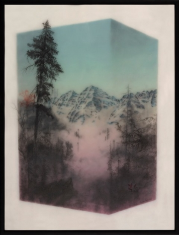 Brooks Shane Salzwedel, Maroon Bells Contained, 2018