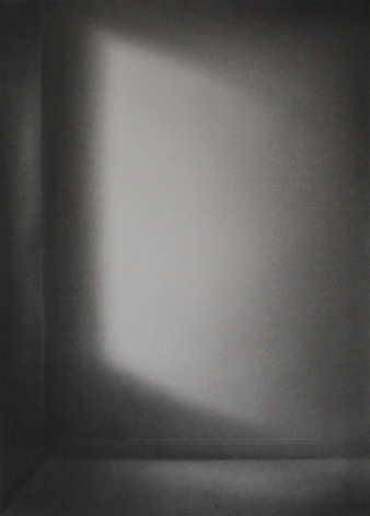 Simon Schubert, Untitled (Light on Wall), 2018