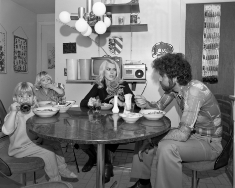 Mary Frey, Untitled (Family Dinner), 1979-1983