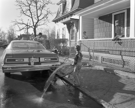 Mary Frey, Untitled (Washing Car), 1979-1983