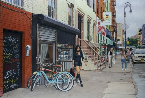 Vincent Giarrano, Julie in the Lower East Side