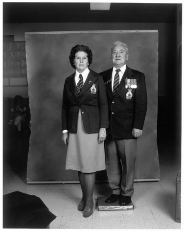 Leon Borensztein, Veterans of Royal Canadian Forces, Petaluma, California, 1985