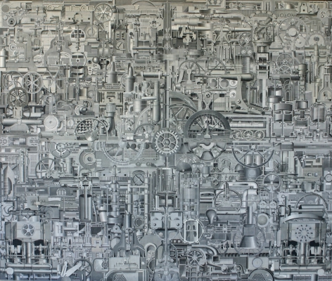 Mechanism, 2004, 40 x 48 inches