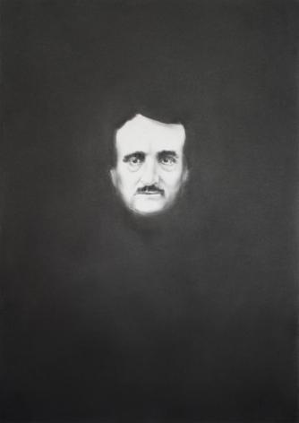 Simon Schubert, Portrait Edgar Allen Poe 3, 2015