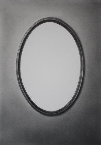 Simon Schubert, Untitled (White Mirror), 2017
