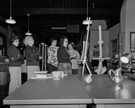 Mary Frey, Untitled (Women at Art Class), 1979-1983
