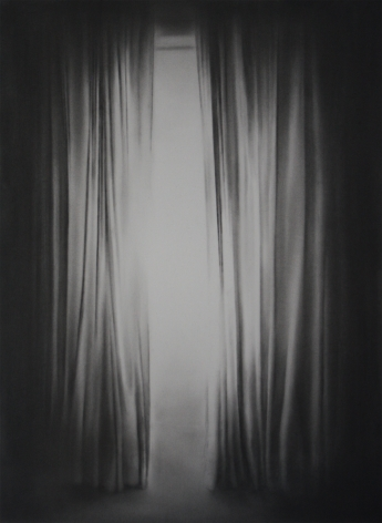 Simon Schubert, Untitled (Light through Curtain), 2017