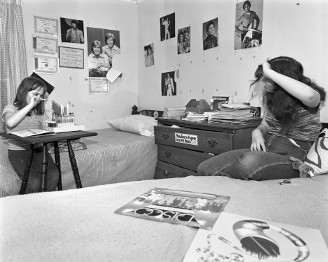 Mary Frey, Untitled (Girls in Bedroom), 1979-1983