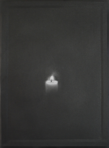 Simon Schubert, Untitled (Candle 7), 2015