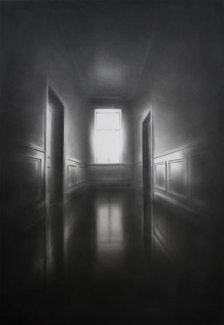 Simon Schubert, Untitled (Hallway), 2017