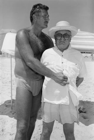 Sage Sohier, Andrew & Patrick, Fire Island, NY, 1988