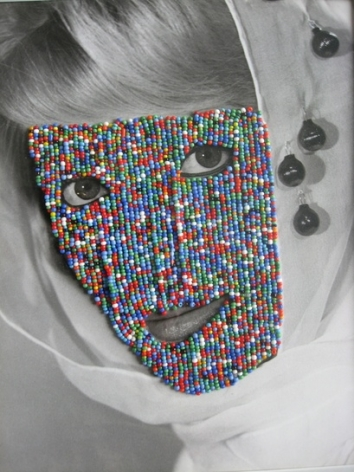 Joseph Heidecker,  Beaded Face, 2007