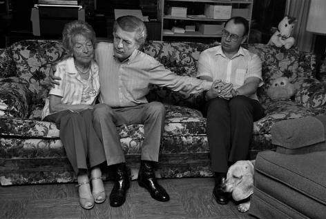Sage Sohier, Gordon & Jim, with Gordon's mother Margot, San Diego, 1987