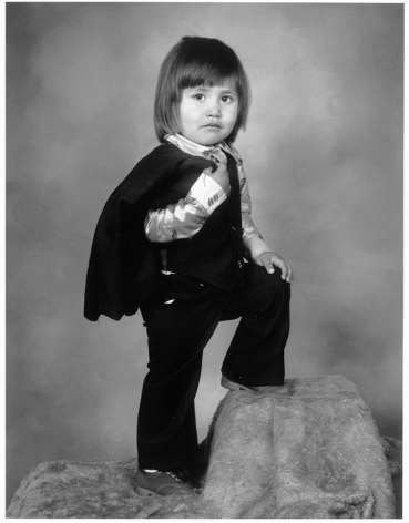Leon Borensztein, Mexican Toddler, Santa Maria, California, 1979-1989