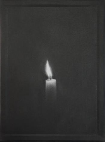 Simon Schubert, Untitled (Candle 9), 2015