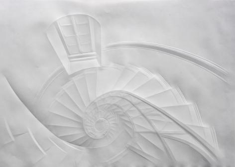 Simon Schubert, Untitled (Spiral Staircase), 2013