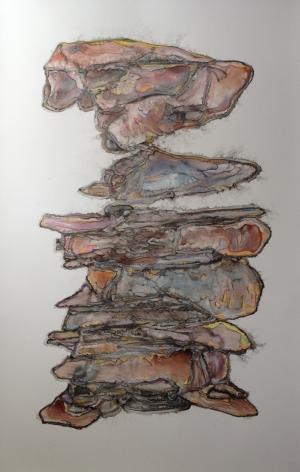 Sara Schneckloth, Conglomerate Body I, 2014