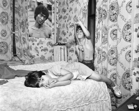Mary Frey, Untitled (Children in Bedroom), 1979-1983