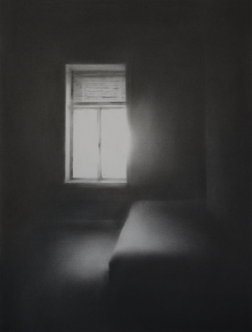 Simon Schubert, Untitled (Light on Bed), 2017