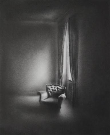 Simon Schubert, Untitled (Light on Armchair), 2017
