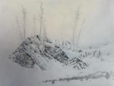Brooks Shane Salzwedel, Long Grass Blue Mountain, 2016