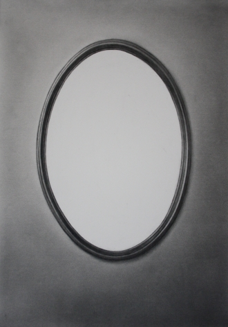Simon Schubert, Untitled (White Mirror), 2017