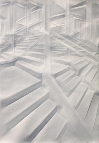 Simon Schubert, Untitled (Intricated 23), 2018